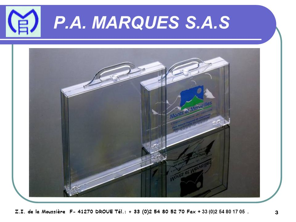 4 P.A.MARQUES S.A.S Z.I.