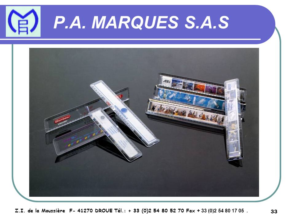 34 P.A.MARQUES S.A.S Z.I.