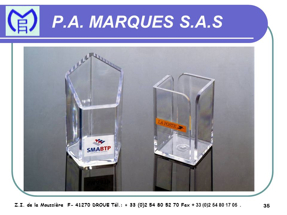 36 P.A.MARQUES S.A.S Z.I.