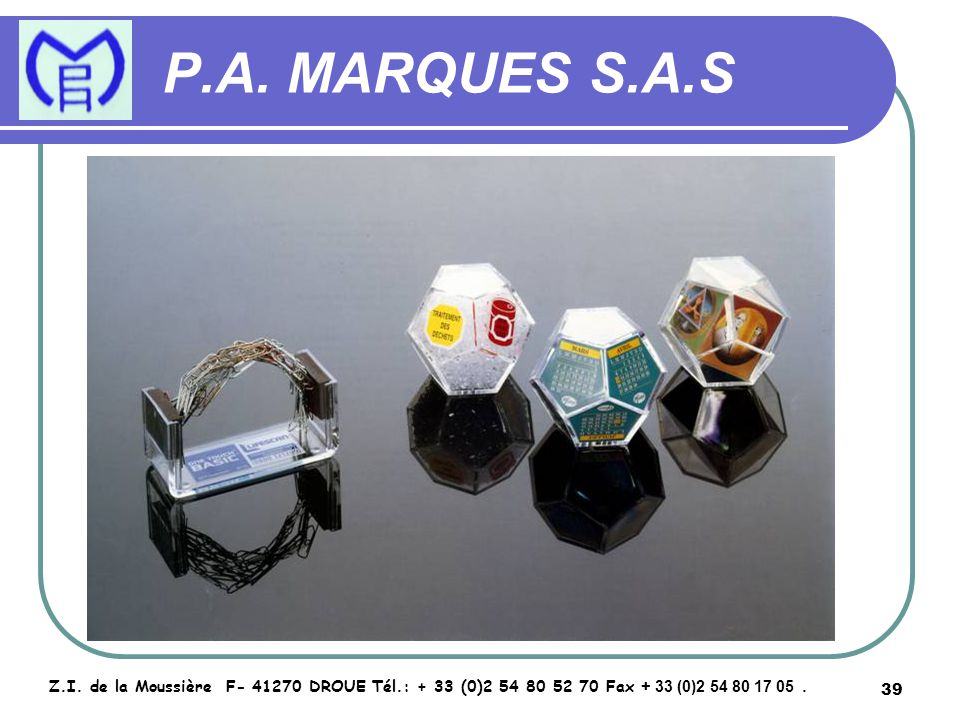 40 P.A.MARQUES S.A.S Z.I.