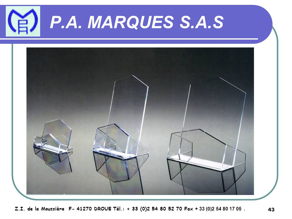 44 P.A.MARQUES S.A.S Z.I.