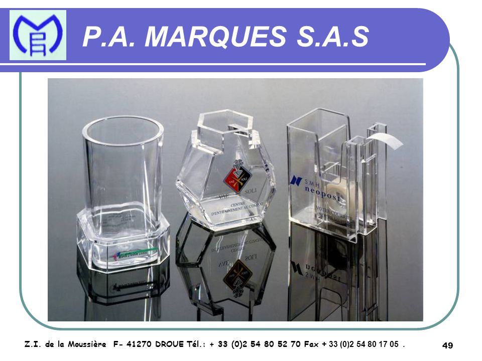 50 P.A.MARQUES S.A.S Z.I.