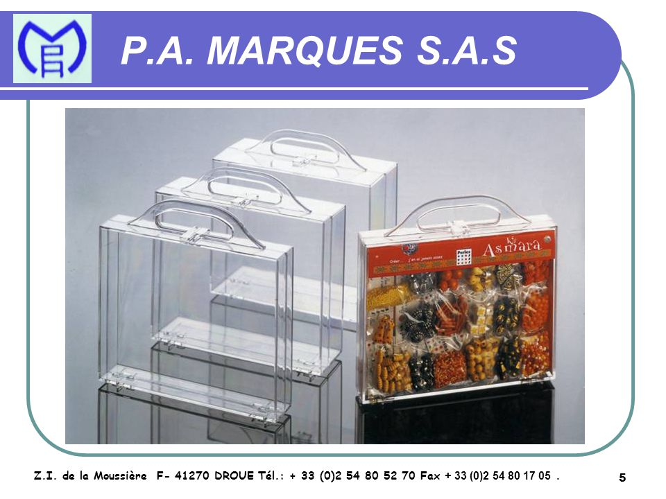 6 P.A.MARQUES S.A.S Z.I.