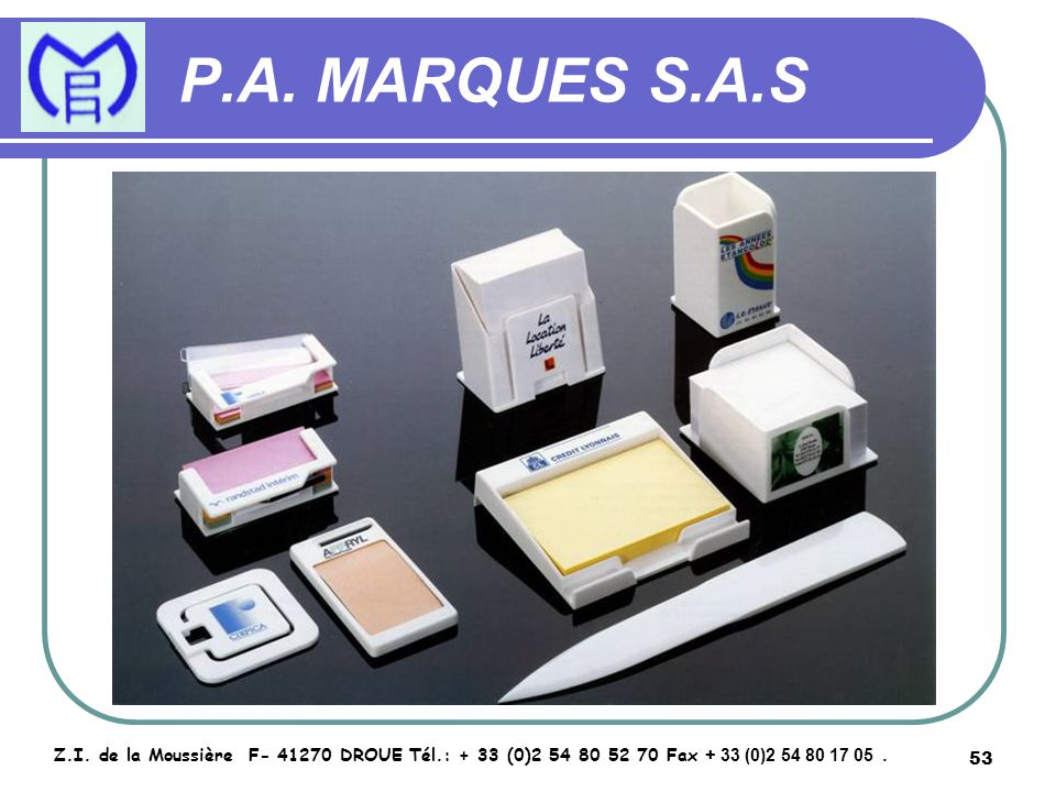 54 P.A.MARQUES S.A.S Z.I.