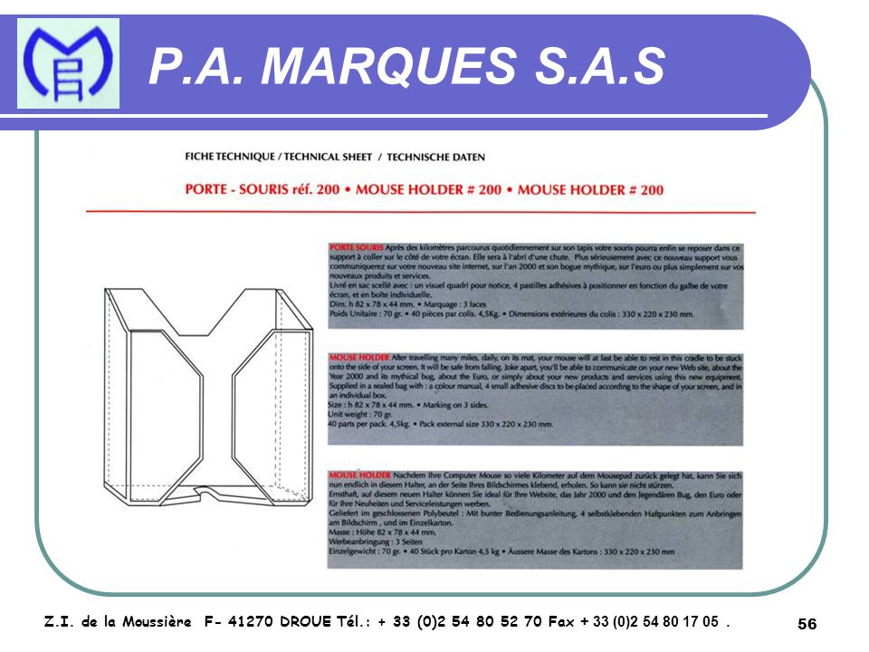 57 P.A. MARQUES S.A.S