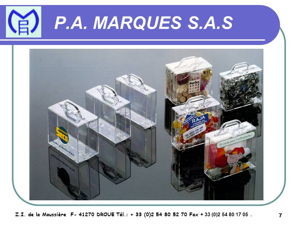 8 P.A.MARQUES S.A.S Z.I.
