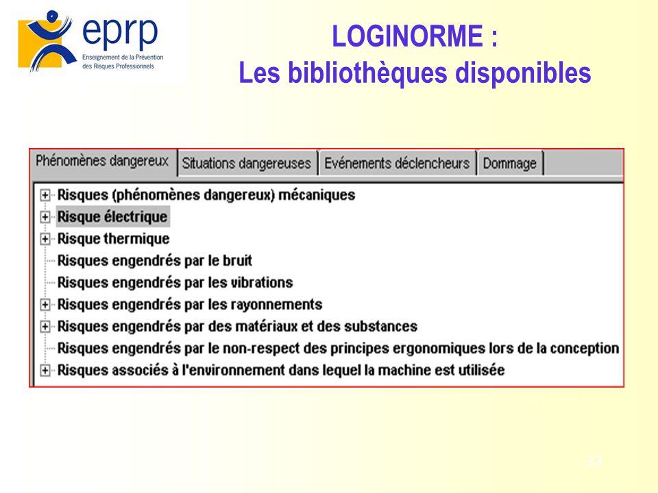 34 LOGINORME : Application de la méthode des 3 étapes (EN 292)