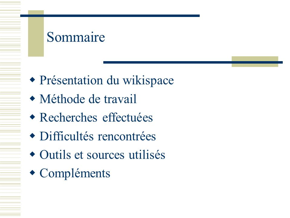 Présentation du wikispace Adresse : http://panorama-du-film-documentaire-en- france.wikispaces.com/http://panorama-du-film-documentaire-en- france.wikispaces.com/ Problématique orientée autour de la question de la diffusion du documentaire en France : « Par quel biais le film documentaire a-t-il pu se développer en France .