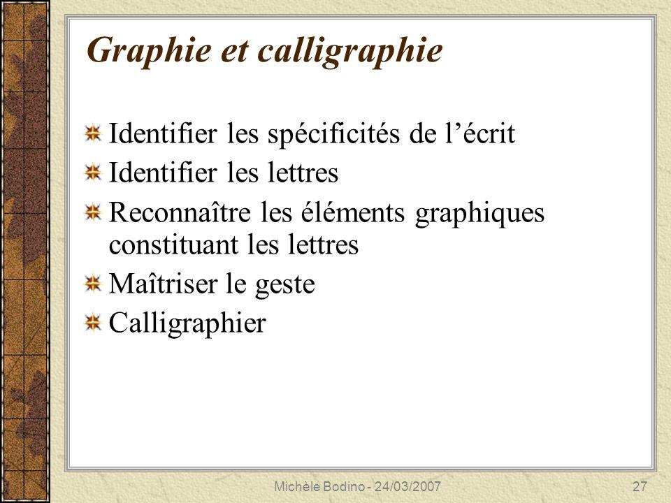 Michèle Bodino - 24/03/200728