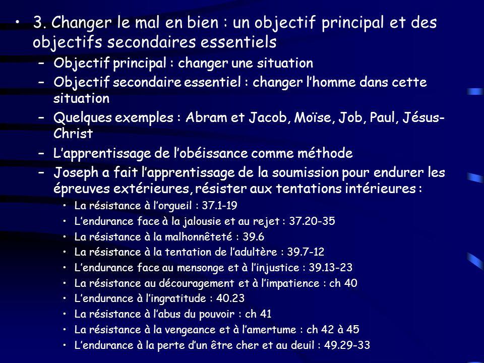–Et si Dieu avait épargné à Joseph ce parcours .