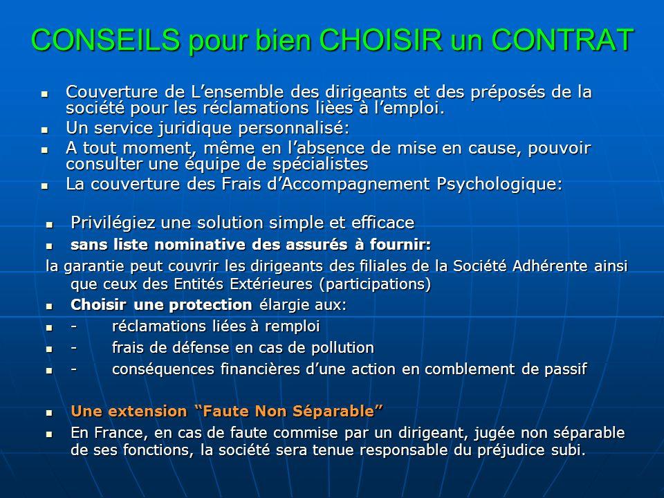 UN FUSIBLE: LA PROTECTION JURIDIQUE Ne confondez pas protection juridique et responsabilité civile.