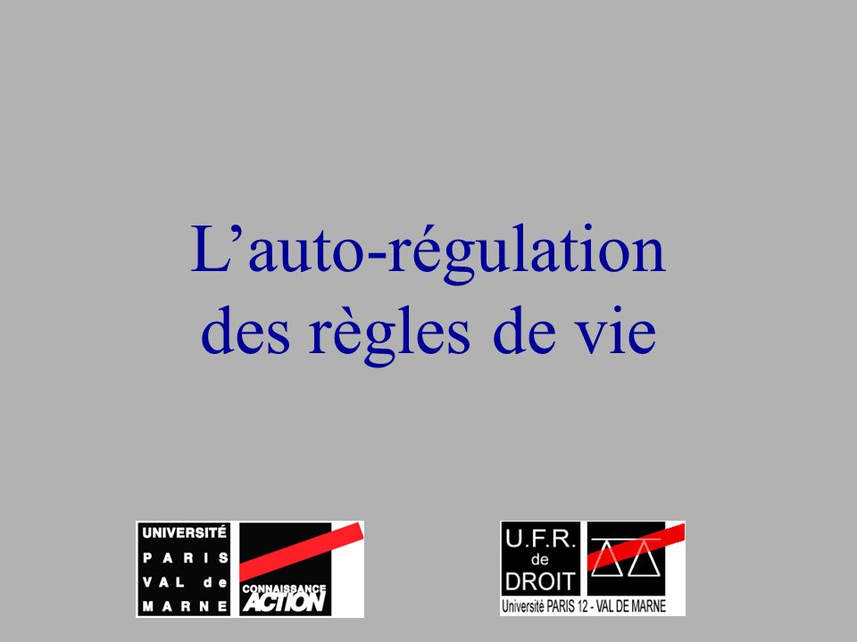 83/160 Auto régulation Soft law Netiquette Chartes Sceaux
