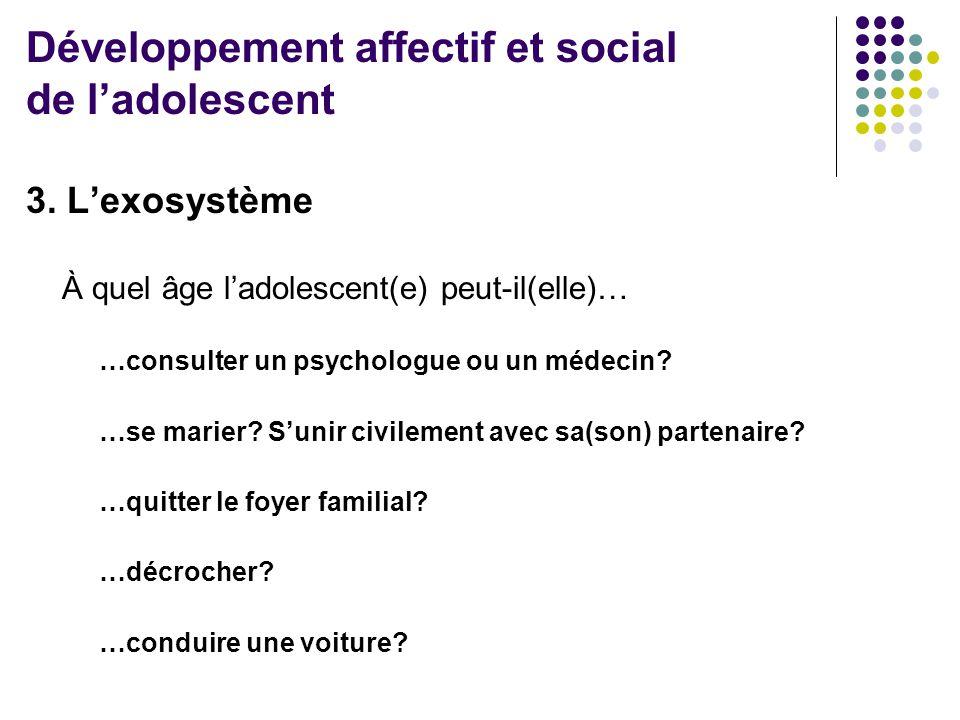 AmisScolaireParascolaire École Famille Développement affectif et social de l'adolescent 4.