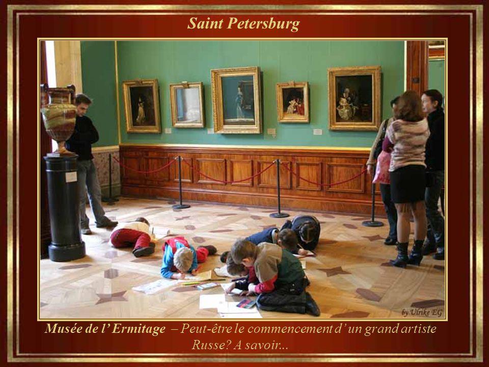 Saint Petersburg Musée de l' Ermitage – Peut-être le commencement d' un grand artiste Russe.