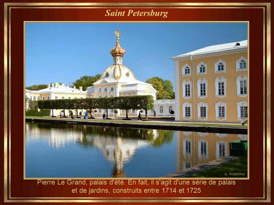 Saint Petersburg Pierre Le Grand, palais d été.