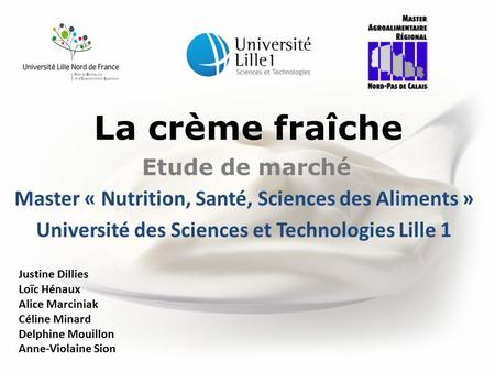 Université des Sciences et Technologies Lille 1
