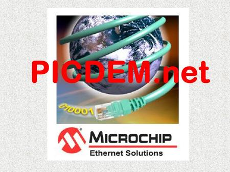 PICDEM.net. Carte PICDEM.net RS232 Ethernet Alim LCD2 X 16 RTL8019 PIC.