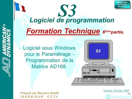 Formation Technique 6èmepartie.