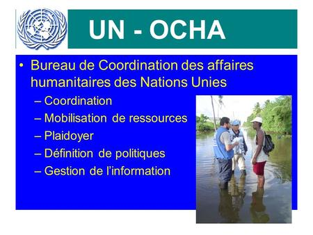 field coordination support section fcss un office for coordination of humanitarian affairs