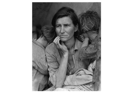 Dorothea Lange, Destitute pea pickers in California. Mother of seven children. Age 32. 1936.