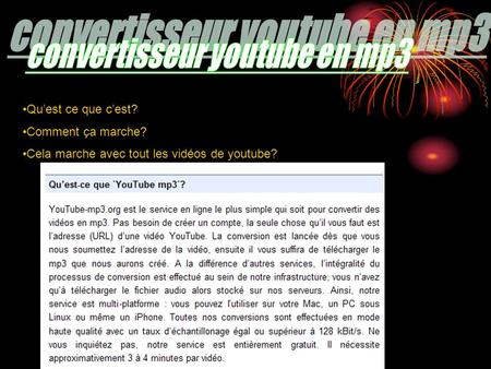 convertisseur youtube en mp3