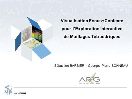 Visualisation Focus+Contexte pour l'Exploration Interactive