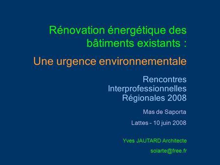 ... énergétique Promotelec - Rencontre avec un pro : Idéesmaison.com