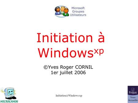 Initiation à Windowsxp