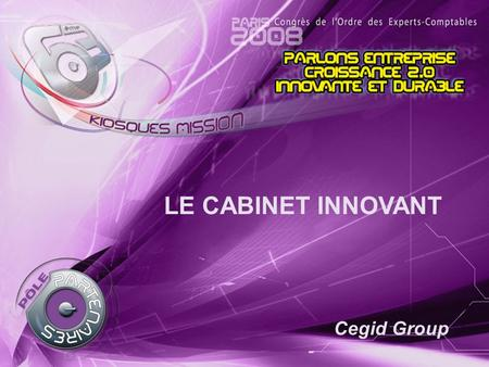LE CABINET INNOVANT Cegid Group.