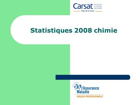 Statistiques 2008 chimie.