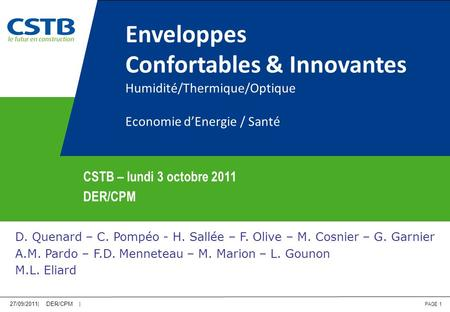 Confortables & Innovantes