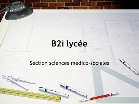 Section sciences médico-sociales