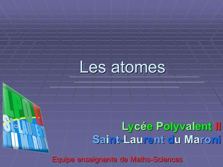 Equipe enseignante de Maths-Sciences