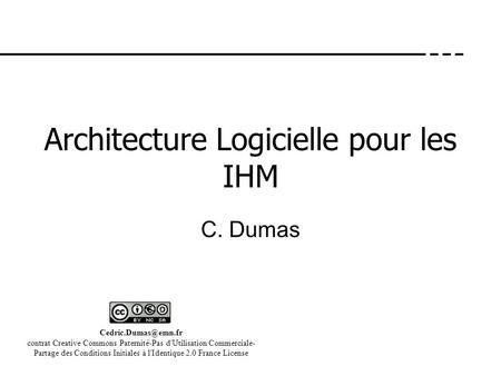 Mod les d architecture ppt t l charger for Architecture logicielle exemple