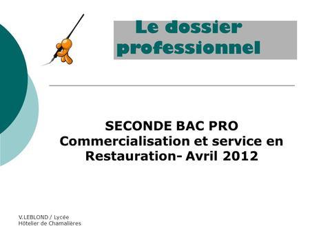 Bac pro g a sous epreuves e31 e32 e33 ppt t l charger - Coefficient bac pro cuisine ...