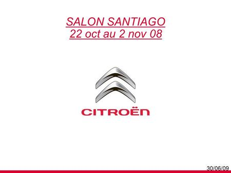 SALON SANTIAGO 22 oct au 2 nov 08