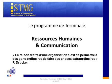 Ressources Humaines & Communication