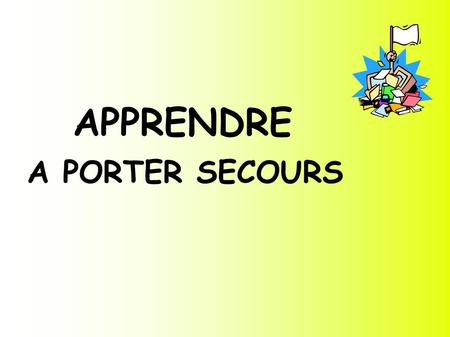 apprendre a porter secours cycles 1 2 3 ppt t 233 l 233 charger