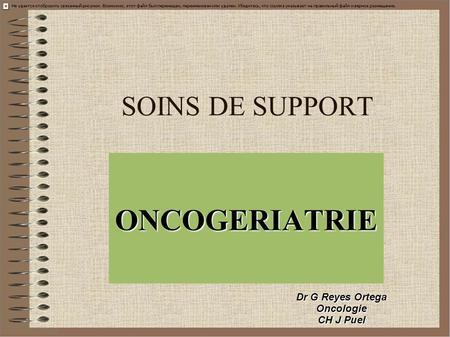 Interet de la consultation oncogeriatrique dr c lebrun - Clinique de la porte verte versailles ...