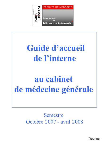 Audit des mds de paris vii rapport d tape eric galam alain eddi ppt t l charger - Rapport de stage cabinet medical ...