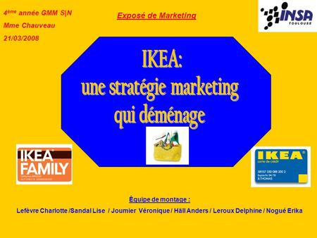 une stratégie marketing