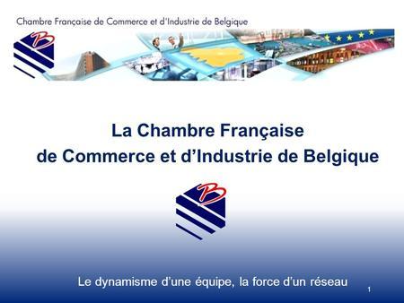 1 28 02 2013 projet d appui au d veloppement des for Chambre de commerce belgique chine