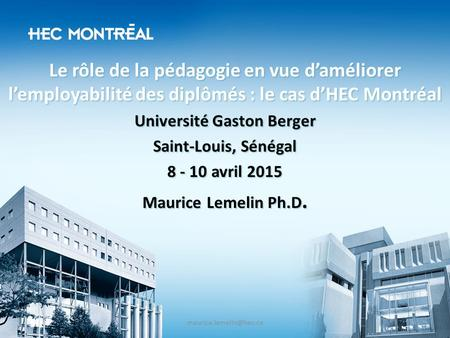 Université Gaston Berger