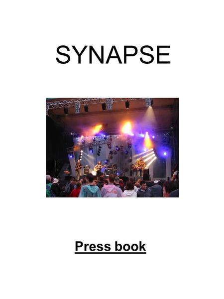 SYNAPSE Press book.