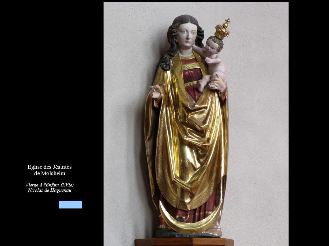Eglise des Jésuites de Molsheim Vierge à l enfant (XVIe)