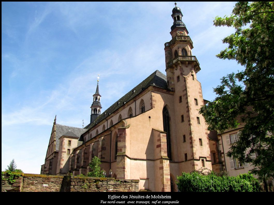 Eglise des Jésuites de Molsheim Transept nord