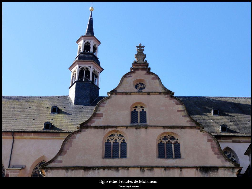 Eglise des Jésuites de Molsheim Campanile Liens vers : Wikipédia Wikimedia Base Mérimée