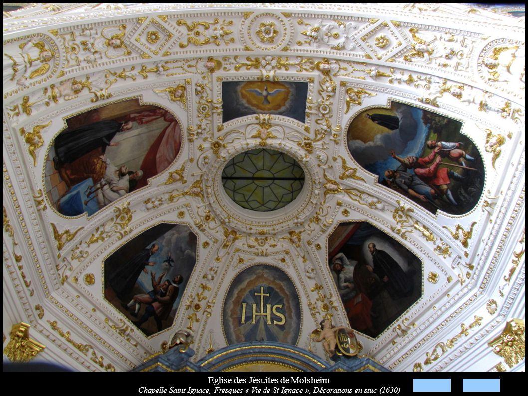 Eglise des Jésuites de Molsheim Chapelle Saint-Ignace, Autel secondaire (XVIIIe)