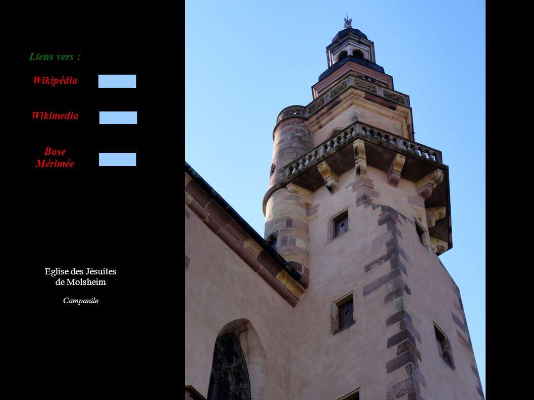Eglise des Jésuites de Molsheim Tourelle de croisée avec cloches