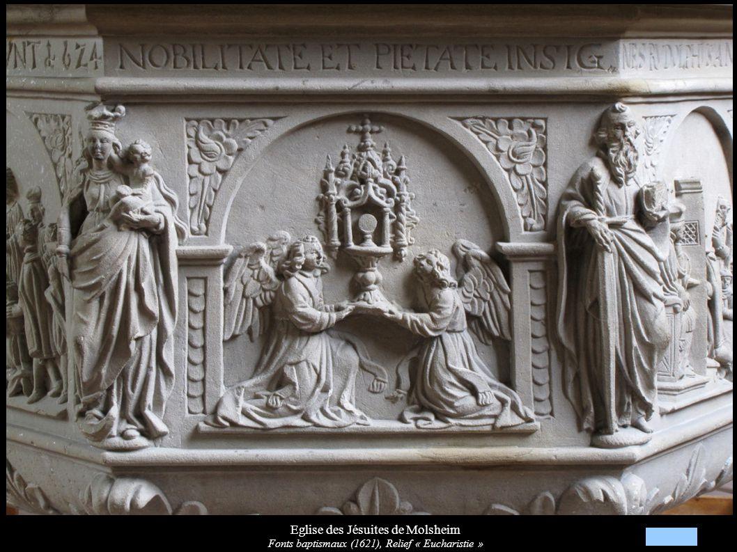 Eglise des Jésuites de Molsheim Chapelle et autel de la Vierge de Pitié (XVIIIe)